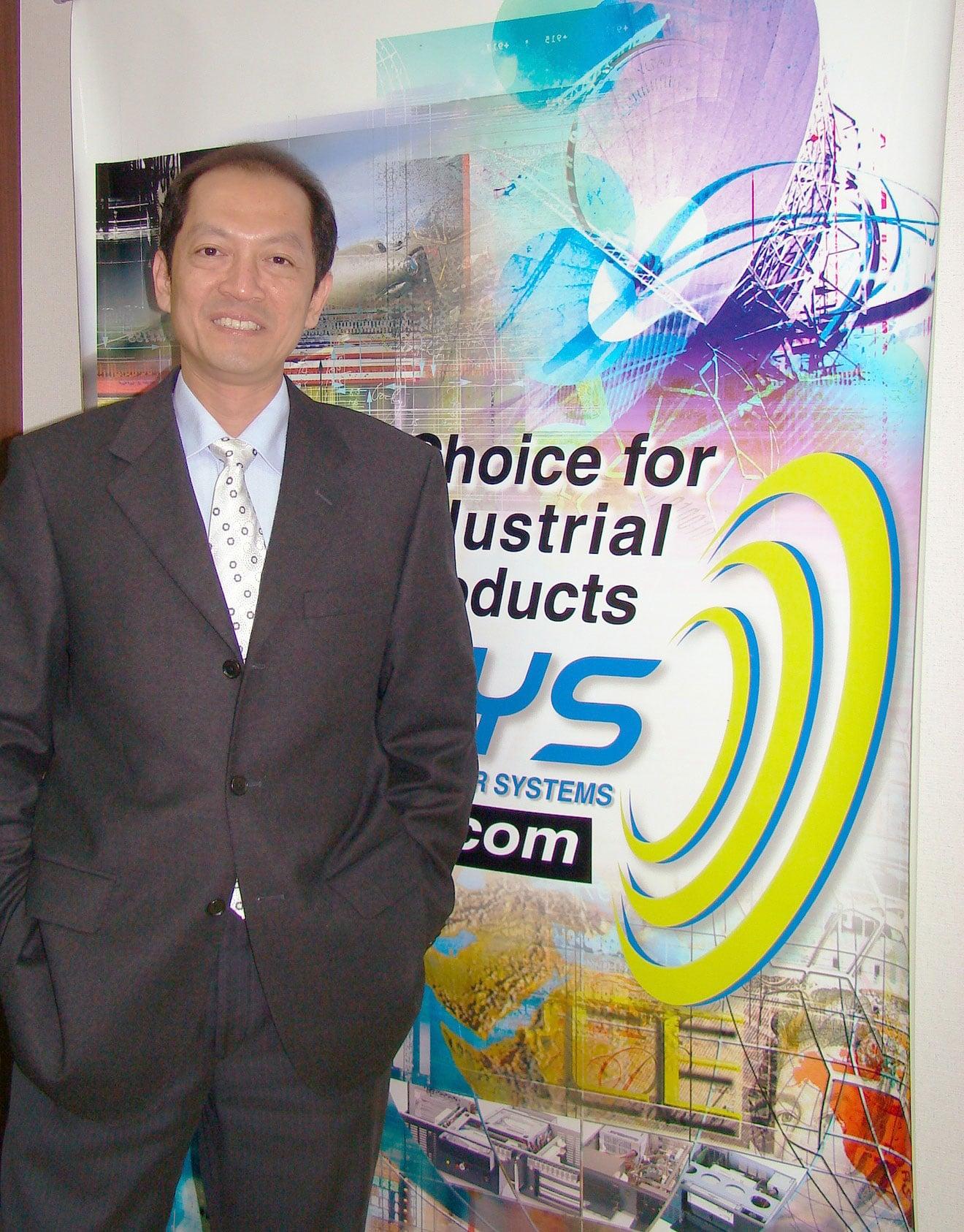 Steven Liu, vice-president, AICSYS
