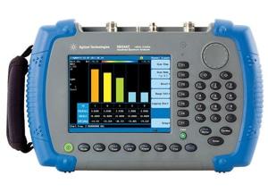 N9344C handheld spectrum analyser by Agilent