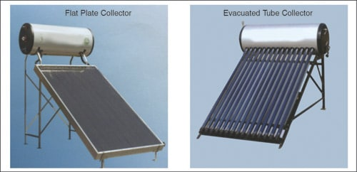 Fig. 6: Solar water heaters