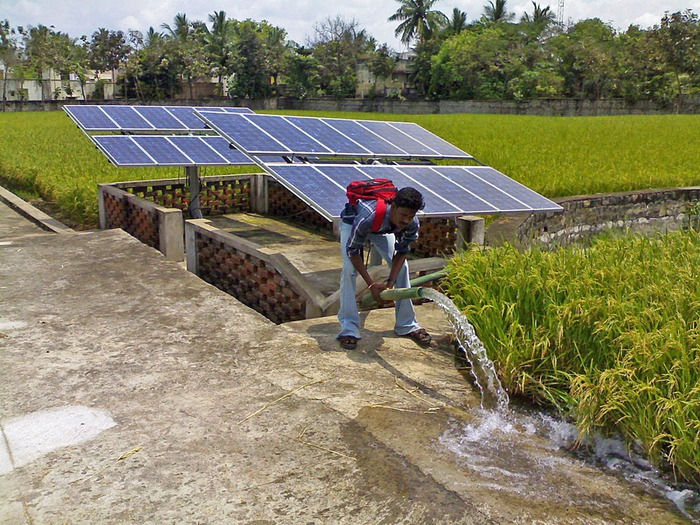 Solar Powered Hand Pumps