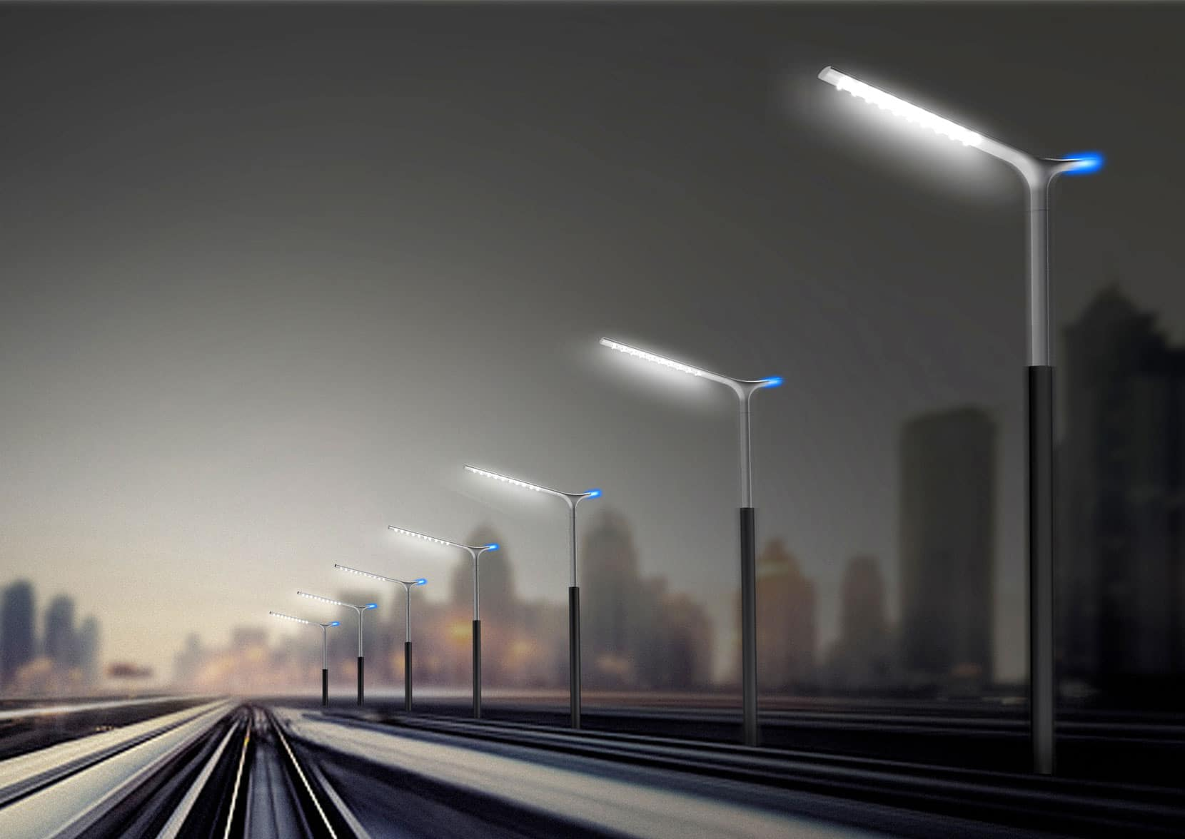Lighting Basement Washroom Stairs: LED Street Light Replacement Project Launched In Delhi