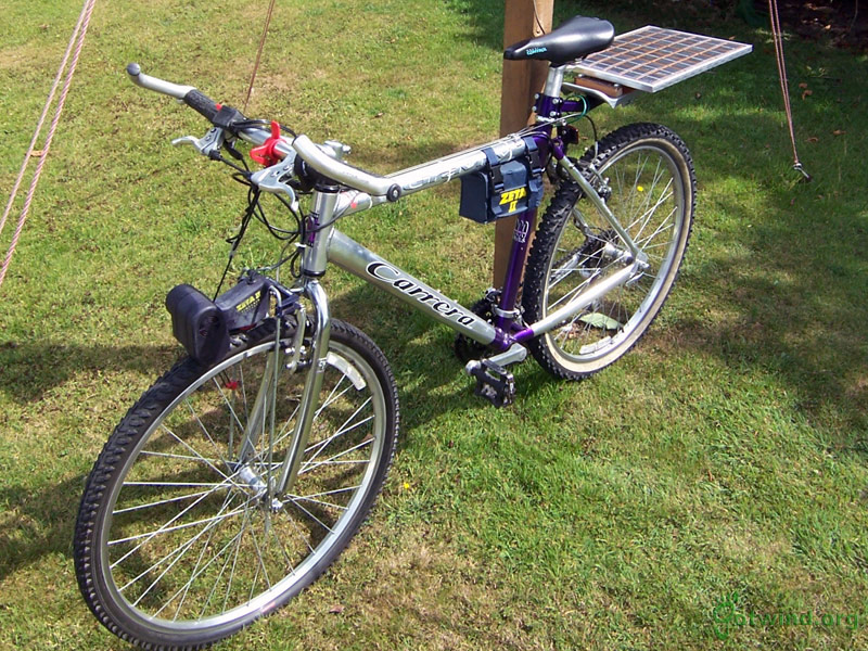 Novel Solar Powered Bicycle To Combat Air Pollution