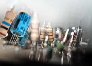 electronic components, India