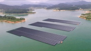 NTPC, floating solar PV plant, Rajiv Gandhi Combined Cycle Power Plant, India