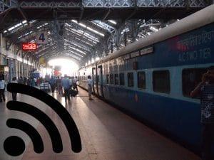 Wi - Fi, railway stations, India