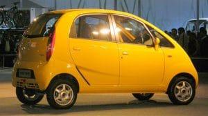 Tata Nano, electric car, EV, taxi, Tata Motors, India