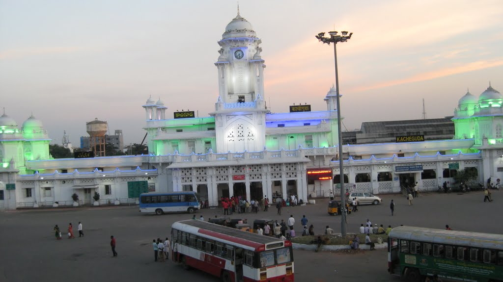 Kacheguda Becomes India S First Energy Efficient Railway Station
