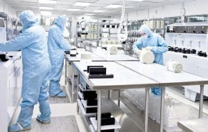 Control contamination by using the right ESD and clean room