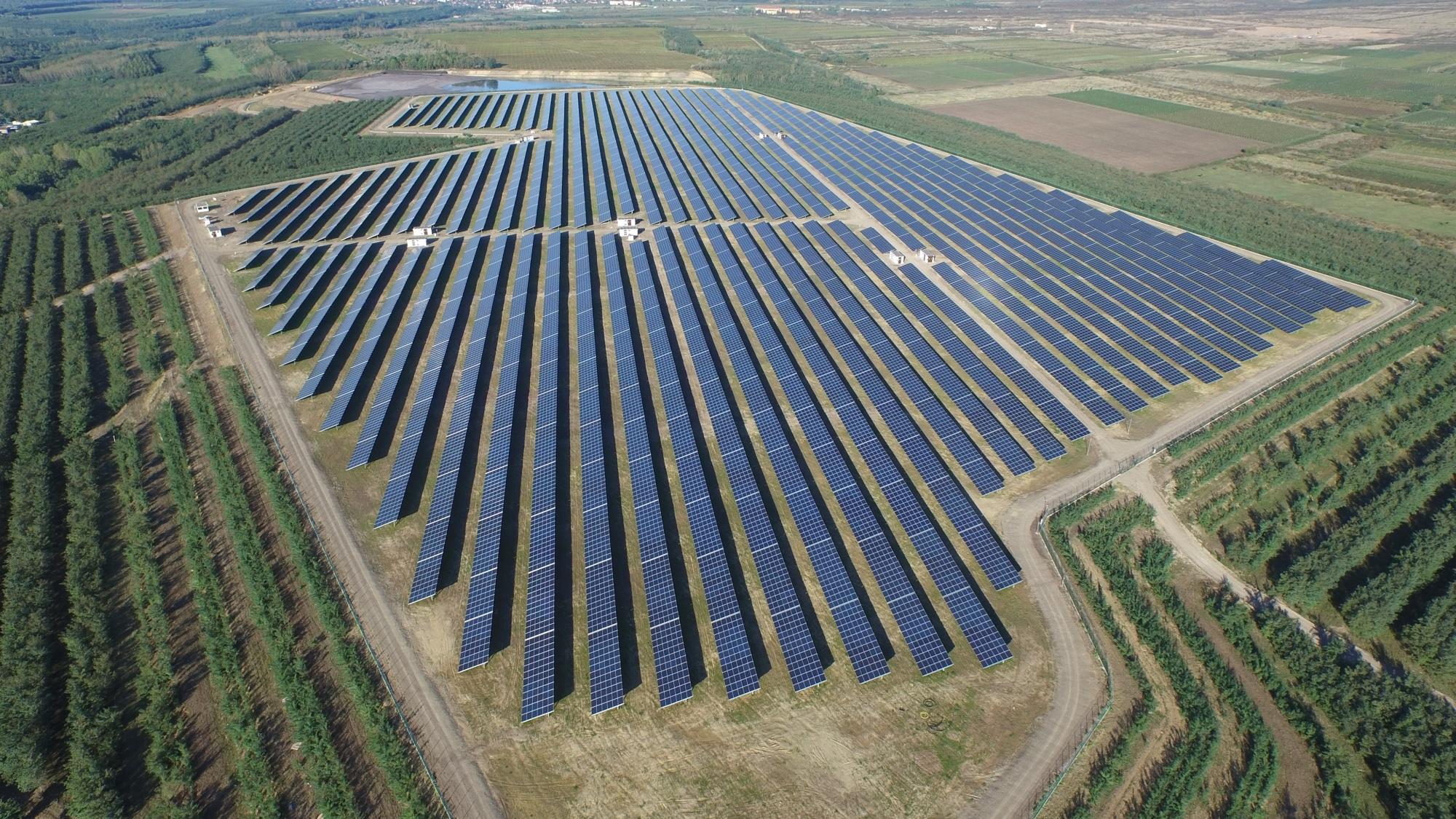 Nlc Inaugurates 130mw Solar Plant In Tamil Nadu India