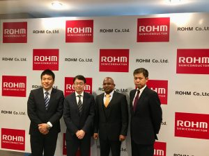 ROHM, TFT chipset, automotive, India