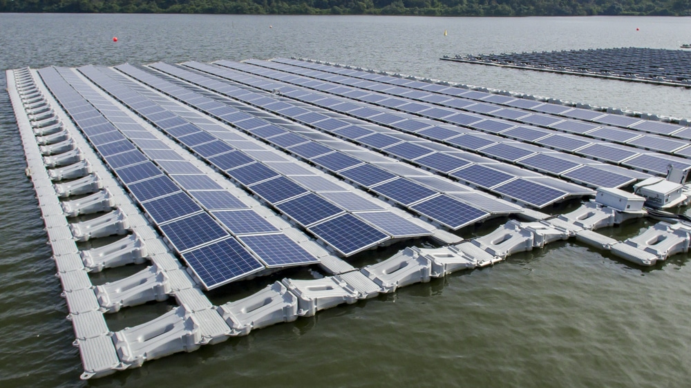 Construction Underway For 24mw Floating Pv Plant At