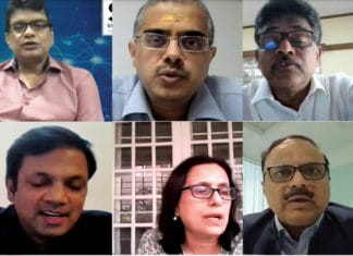 A panel discussion during the India Technology Week this June 2020